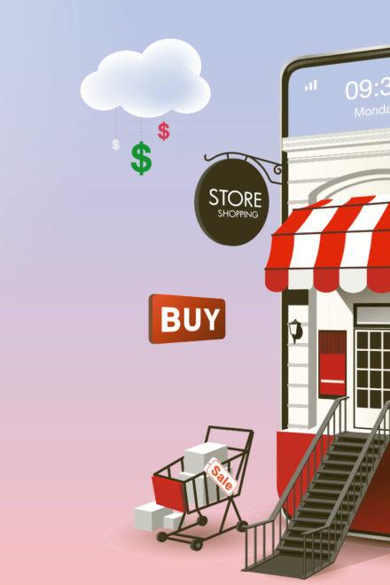 Cómo combinar o migrar de ventas físicas a online