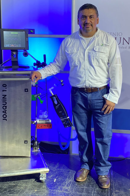 Primer ventilador mecánico creado en Guatemala contribuye ante la COVID-19