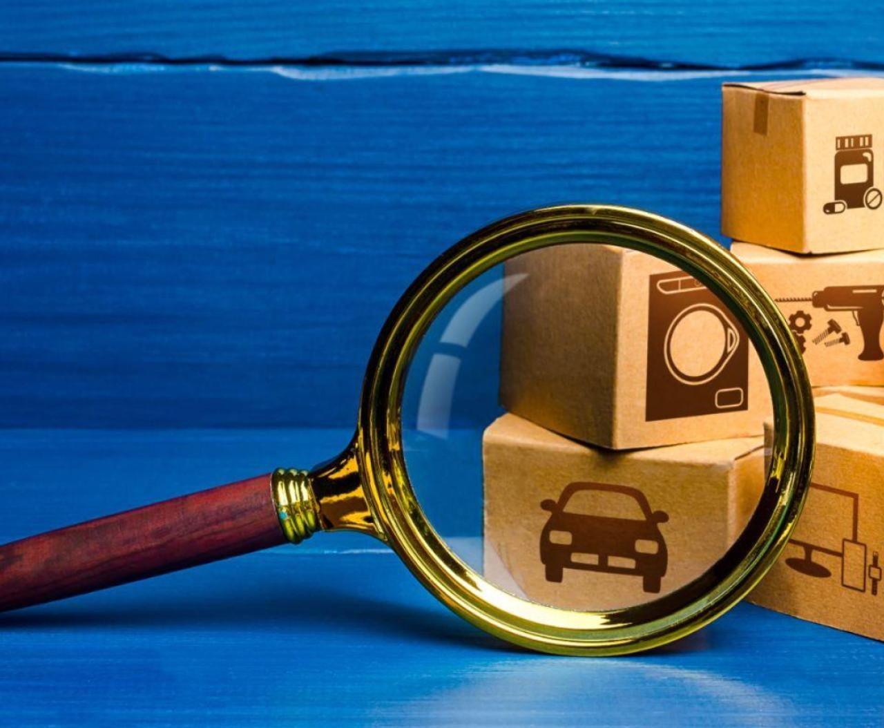 La falsificación de mercancías